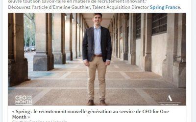 [Rédaction web] Nouvel article pour Adecco Group France