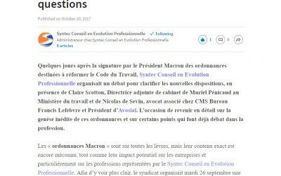 [Rédaction web] De l'impact RH des «ordonnances Macron»