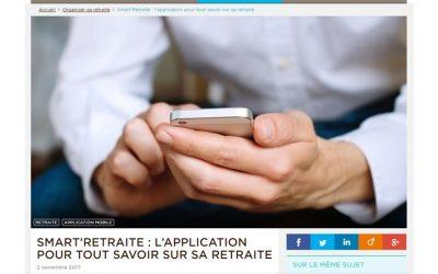 [Rédaction web] Smart'Retraite, l'appli qui dit tout sur la retraite