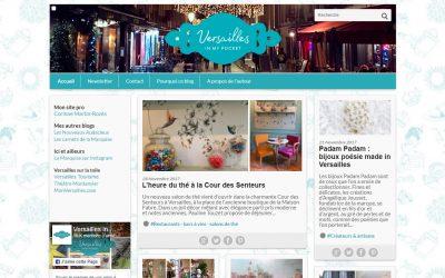 [Blogging] Nouvel univers graphique pour Versailles in my pocket