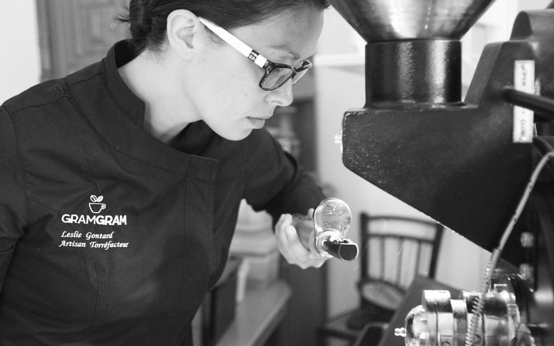 [Blogging] La reconversion de Leslie, artisan-torréfacteur