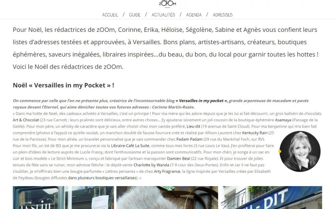 [Contribution] Le Noël de l'équipe zOOm Versailles