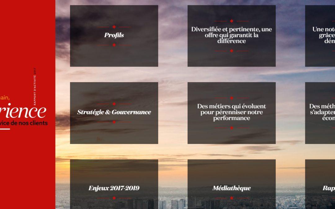 [Rédaction pro] Publication du RA Covéa Finance 2017