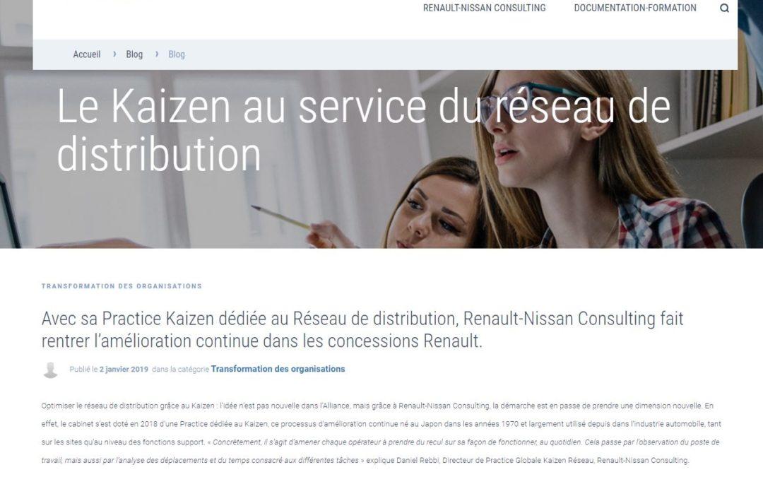 [Web] Article pour le blog Renault-Nissan Consulting