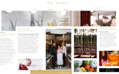 [Web] Contribution au site Via Veneto