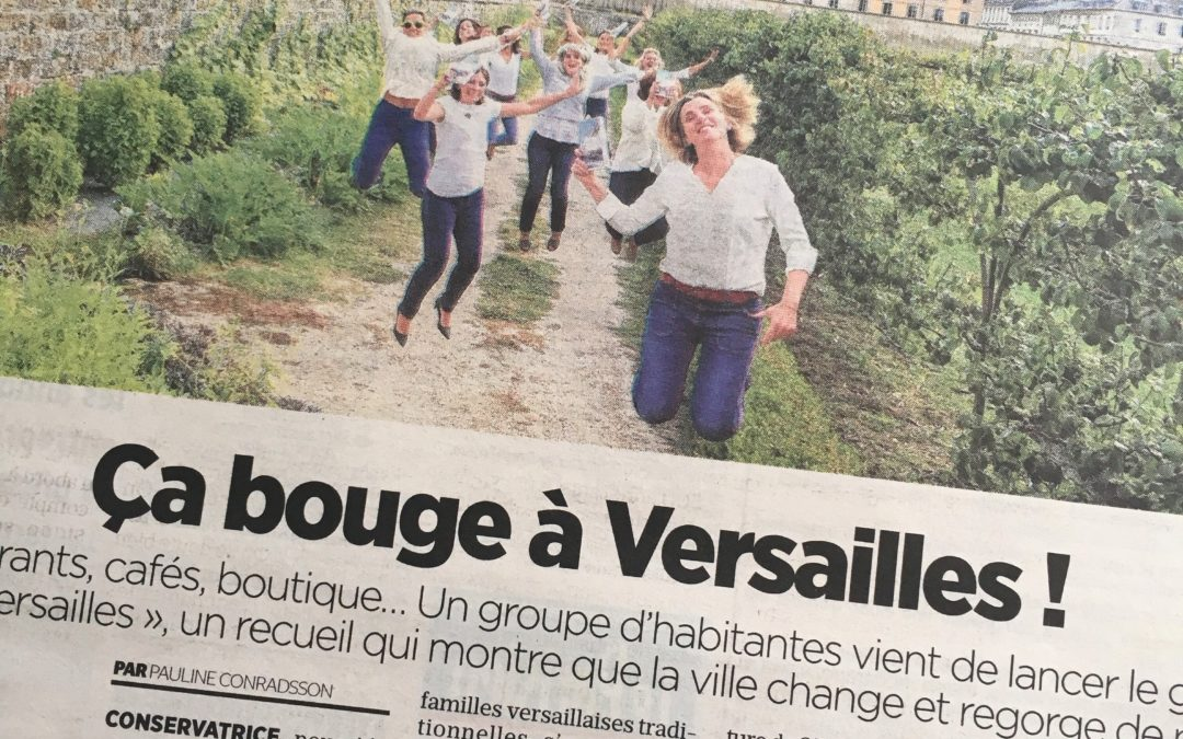 [Aimer Versailles] Interviewée par Le Parisien
