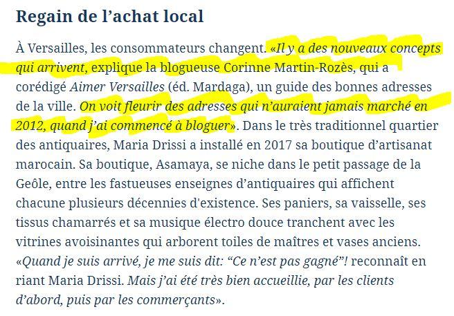 [Revue de presse] Interviewée dans Le Figaro