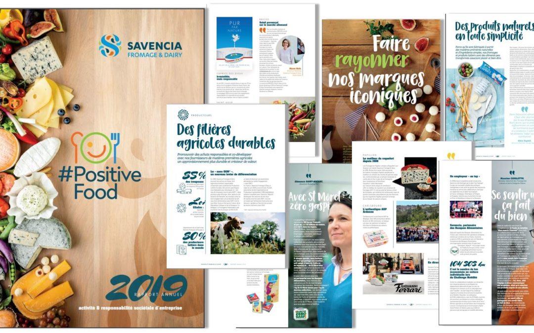 [Contenus] Parution du RA 2019 Savencia Fromage & Dairy